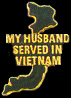 Vietnam My Husband Served Hat Pins