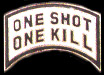 One Shot One Kill Hat Pins