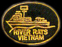 River Rats Vietnam Navy Hat Pins