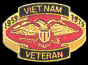 Vietnam Veteran 1959-1975 Hat Pins