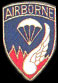 187th Airborne Army Hat Pins