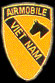 1st Cavalry Division Airmobile Vietnam Army Hat Pins