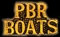 PBR Boats Navy Hat Pins