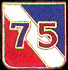 75th Division Army Hat Pins