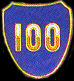 100th Division Army Hat Pins