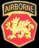 108th Airborne Division Army Hat Pins