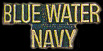 Blue Water Navy Hat Pins