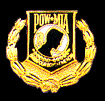 POW/MIA w/Wreath Hat Pins