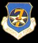 7th Air Force Hat Pins