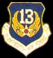 13th Air Force Hat Pins