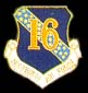 16th Air Force Hat Pins