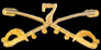 7th Cavalry Hat Pins