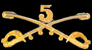 5th Cavalry Hat Pins
