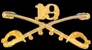 19th Cavalry Hat Pins