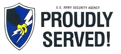 US Army Security Agency Bumper Stickers