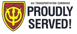 4th Transportation Command Bumper Stickers