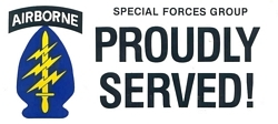1st Special Forces Bumper Stickers