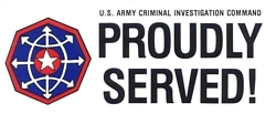 US Army Criminal Investigation Command Bumper Stickers
