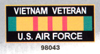 Vietnam Veteran Air Force Magnets
