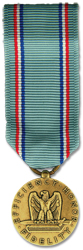 Air Force Good Conduct Anodized Mini Medal