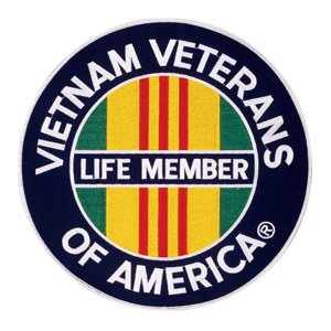 Vietnam Veterans of America Life Member Patches
