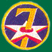 7th Air Force Patches