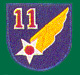 11th Air Force Patches
