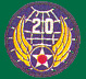 20th Air Force Patches