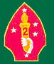 2nd Marine Division Patches