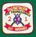 2nd Battalion 1st Marines Patches