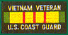 Vietnam Veteran Coast Guard Patches