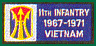11th Light Infantry Brigade Vietnam Patches