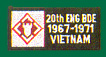 20th Engineers Brigade Vietnam Patches