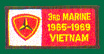 3rd Marine Division Vietnam Patches