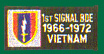 1st Signal Brigade Vietnam Patches