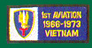 1st Aviation Brigade Vietnam Patches
