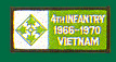 4th Infantry Division Vietnam Patches