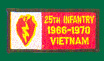 25th Infantry Division Vietnam Patches