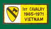 1st Cavalry Division Vietnam Patches