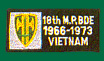 18th MP Brigade Vietnam Patches