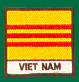 Vietnam Flag Patches