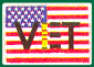 Vietnam Service Ribbon Flag Patches