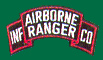 US Army Airborne Ranger Infantry Company Scroll Patches