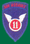 11th Air Assault Patches