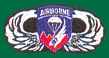 187th Airborne Wings Patches