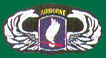 173rd Infantry Brigade Airborne Wings Patches