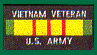 Vietnam Veteran US Army Patches