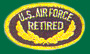 US Air Force Retired Patches