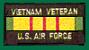 US Air Force Vietnam Veteran Patches