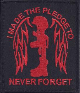 I Made The Pledge To Never Forget Patches
